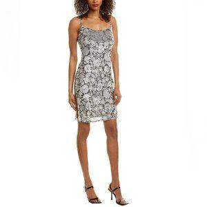 bebe ~ Velvet Burnout Slip Dress